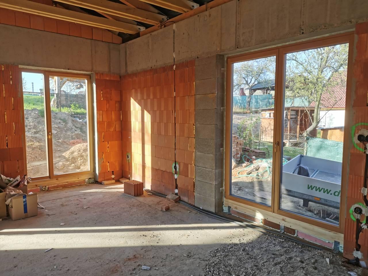 drevené okna