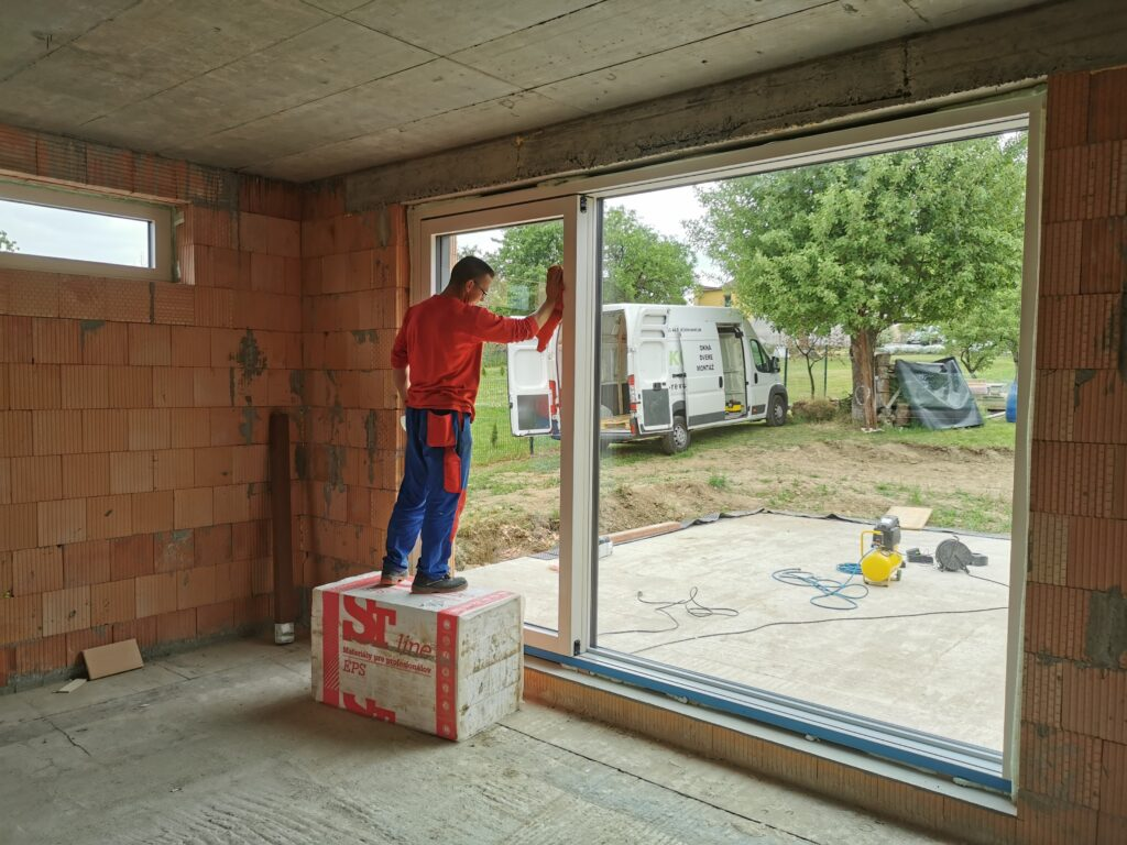 Montáž okien a dverí
