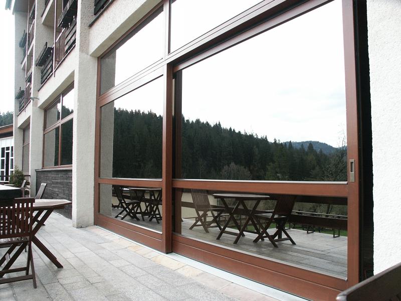posuvné dvere na terasu